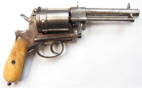 A RARE MONTENEGRIN M 1870 GASSER PISTOL