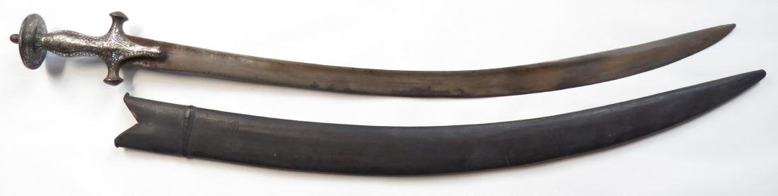AN INDIAN TULWAR SWORD