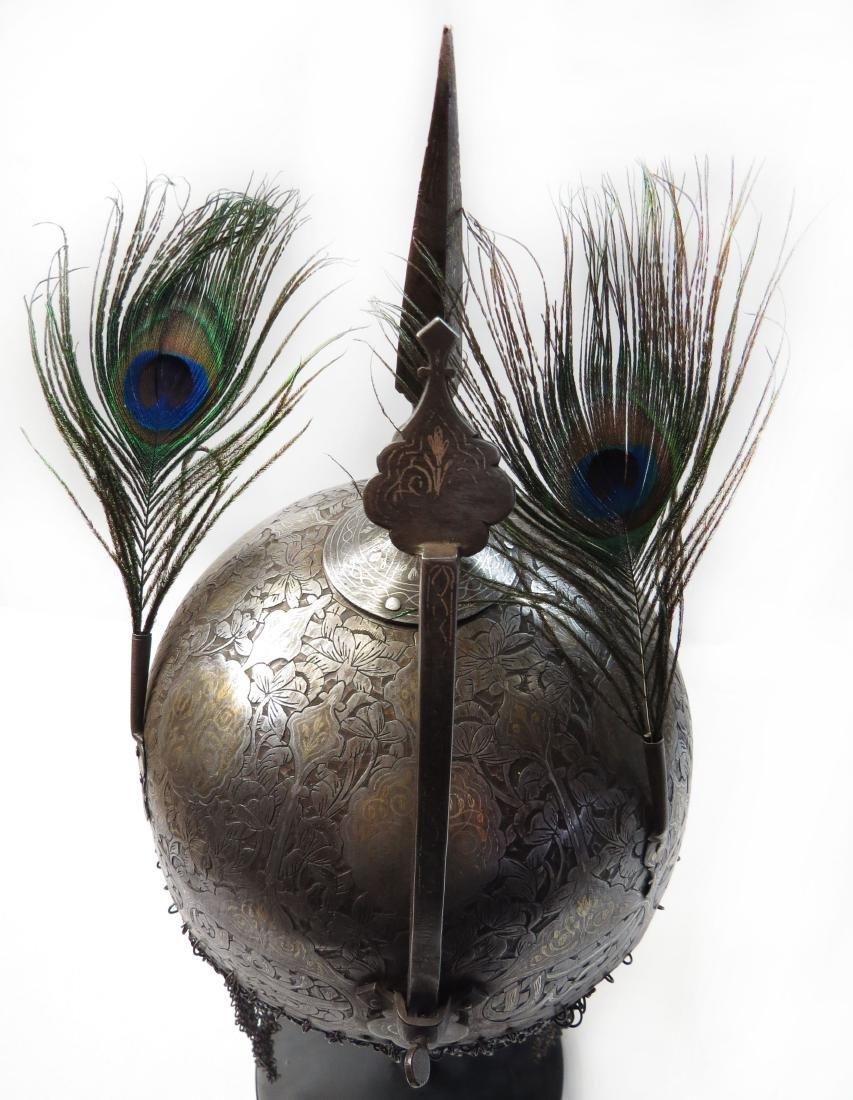 A PERSIAN KULAH KHUD HELMET - 3