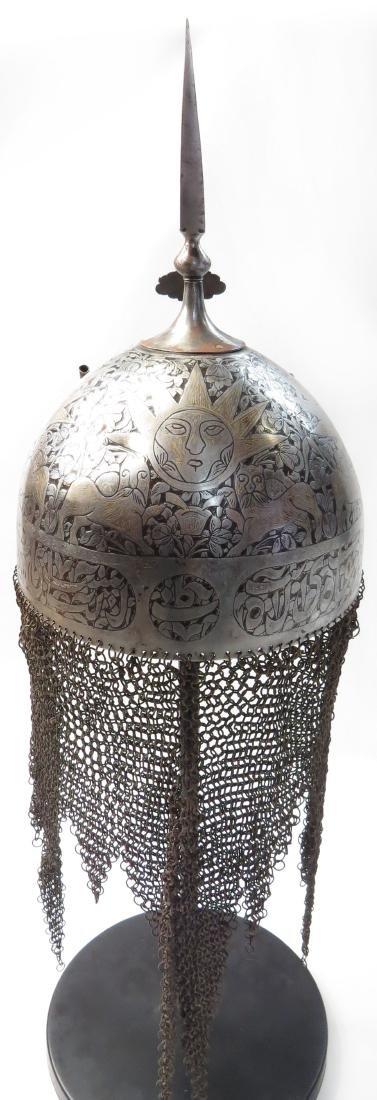 A PERSIAN KULAH KHUD HELMET - 4