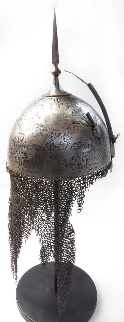 A PERSIAN KULAH KHUD HELMET - 5