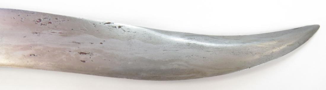 AN INDIAN ZIRAH BOUK DAGGER - 2