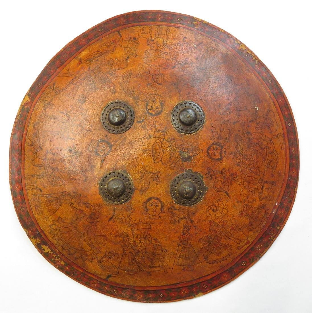 AN INDIAN DHAL SHIELD