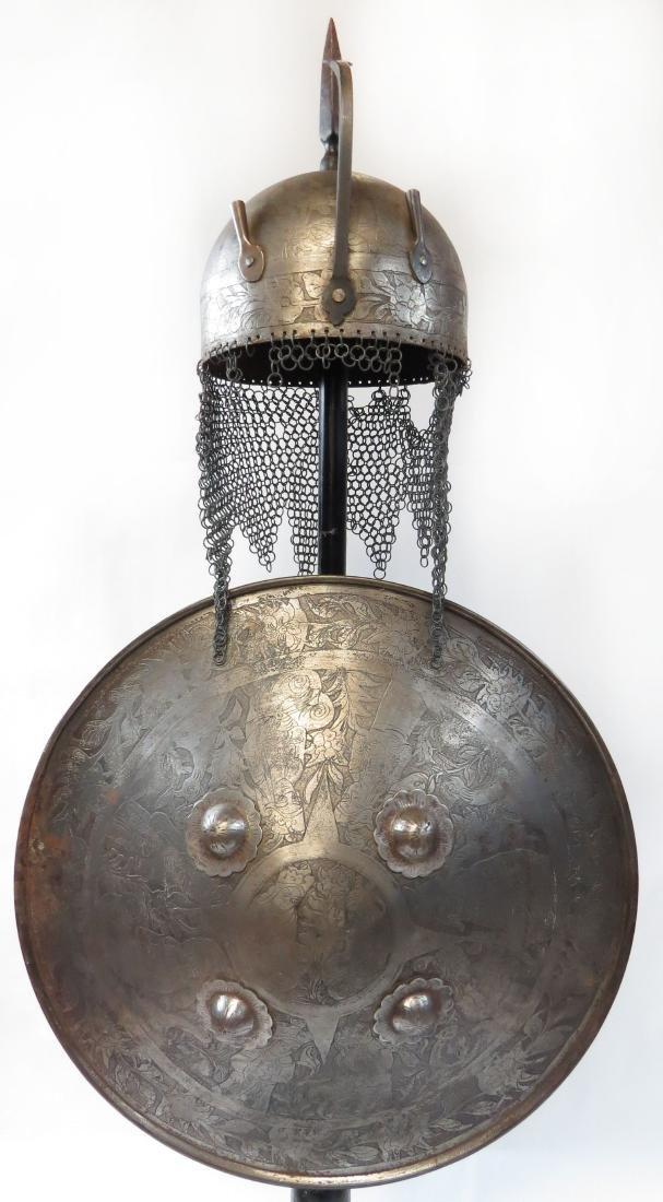 A PERSIAN ARMOR SET