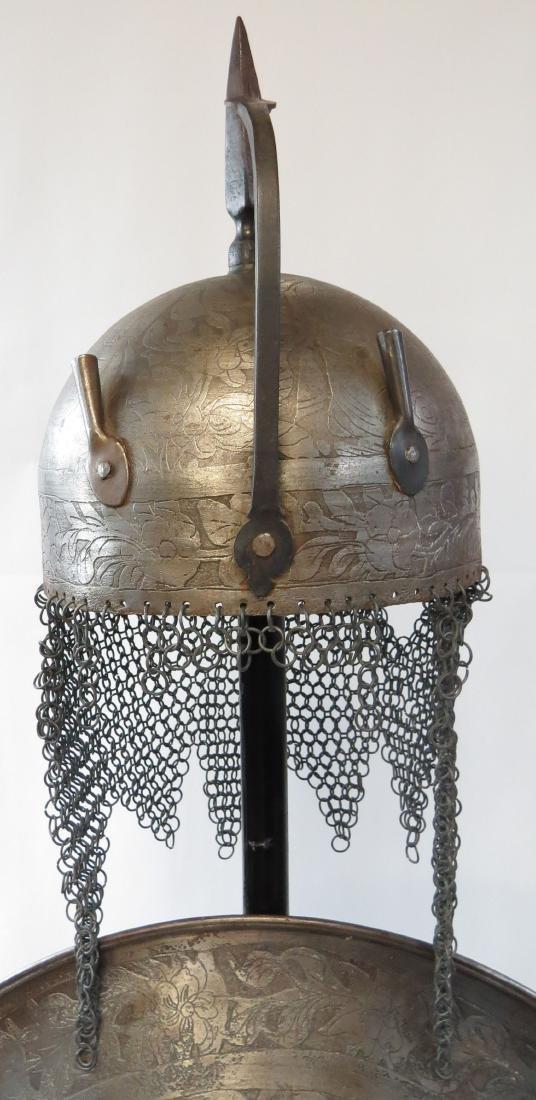 A PERSIAN ARMOR SET - 2