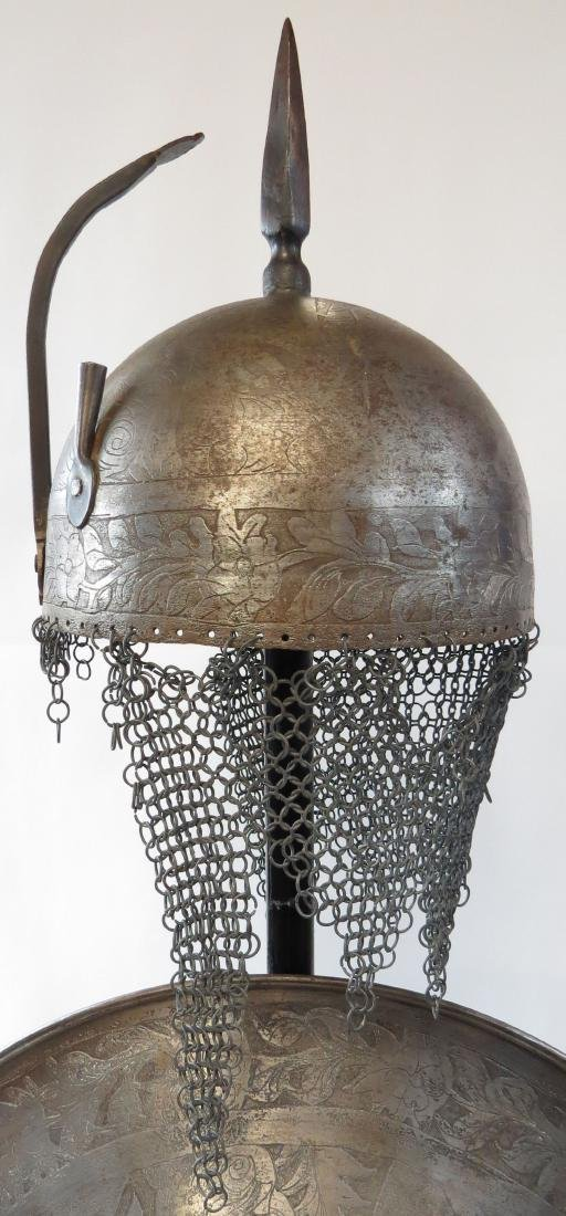 A PERSIAN ARMOR SET - 3