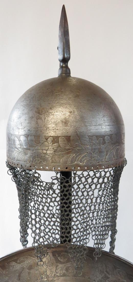 A PERSIAN ARMOR SET - 4