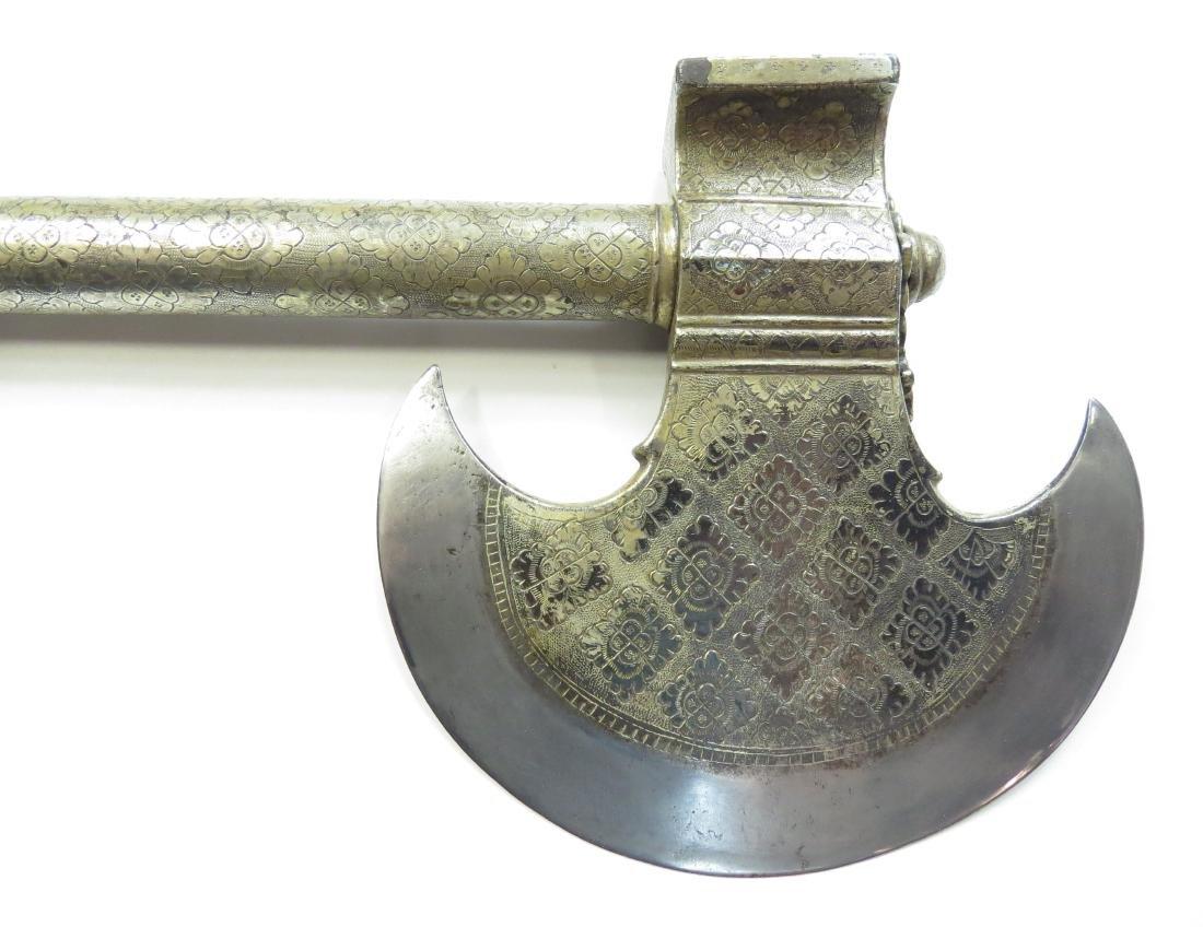 AN INDIAN BATTLEAXE - 2