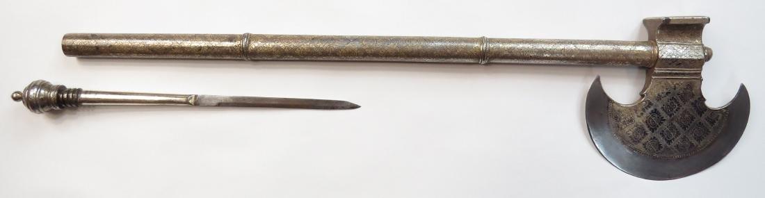 AN INDIAN BATTLEAXE - 3