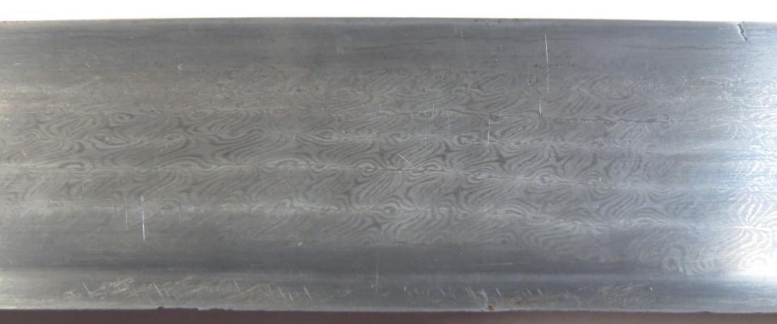 AN ALBANIAN YATAGHAN SWORD - 4