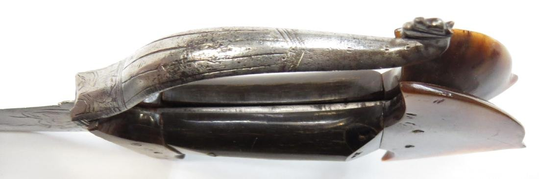 AN INDIAN KHANJARLI DAGGER - 3
