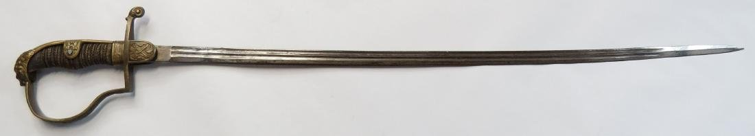 A GERMAN OFFICER'S SWORD