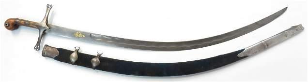A PERSIAN SHAMSHIR SWORD