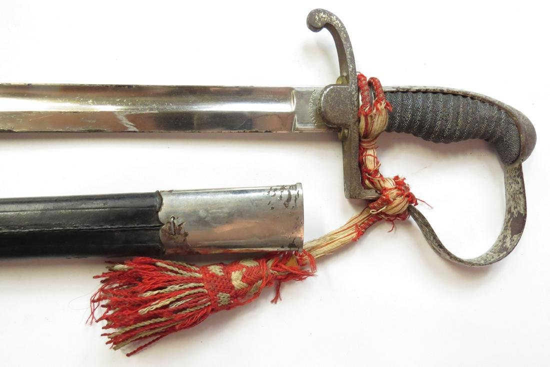 A CONTINENTAL INFANTRY SWORD - 5