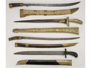 Four Indonesian Swords