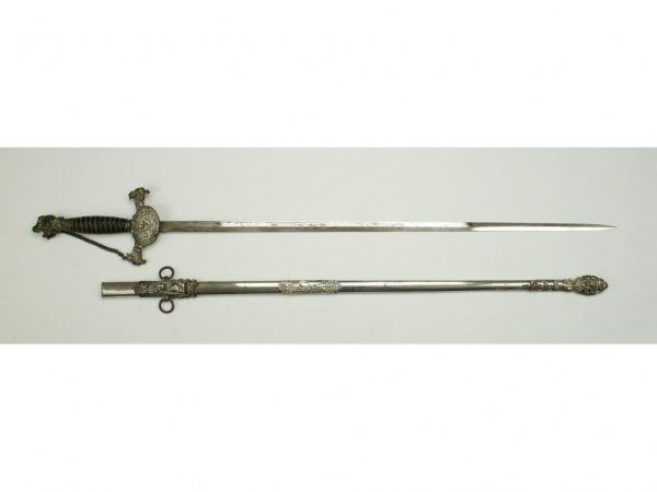 A Knights of Pythias Fraternal Sword