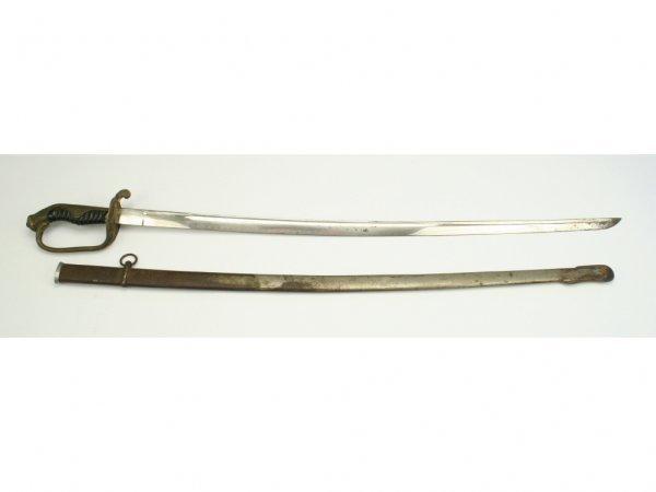 13: A Japanese Model 1886 Parade Saber