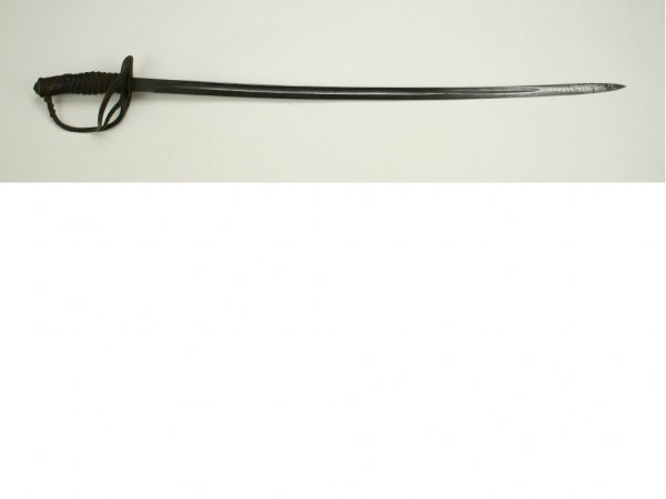 22: A US Model 1872 Cavalry Officer's Saber