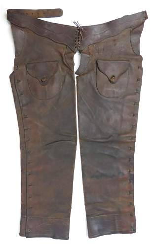A PAIR OF AMERICAN WESTERN CHAPS