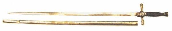 6: A U.S. Militia NCO Sword