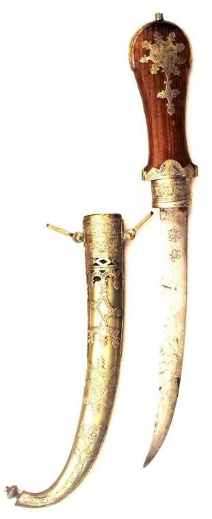 A Moroccan Koumiyya Dagger