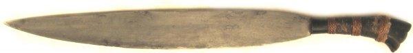 17: A Moro Barong Knife