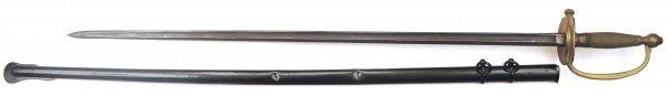 22: A U.S. M1840 NCO Sword