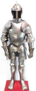 A CONTINENTAL SUIT OF ARMOR
