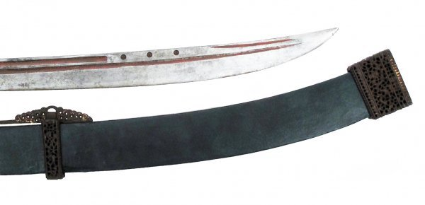 A CHINESE TWO-HANDED SABER SHUANG SHOU DAO - 8