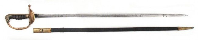 A DUTCH OFFICER'S SWORD