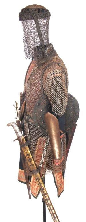 A SUIT OF KHEVSUR ARMOR