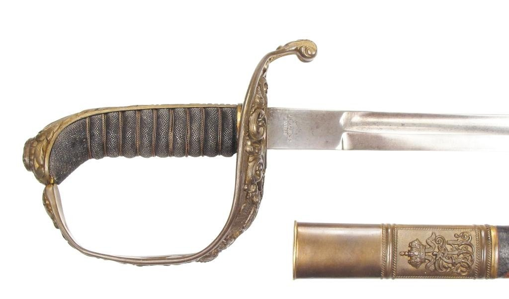 AN IMPERIAL AUSTRO-HUNGARIAN OFFICER'S SABER