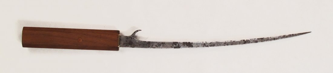 A JAPANESE HACHIWARA ARMOR-PIERCING DAGGER