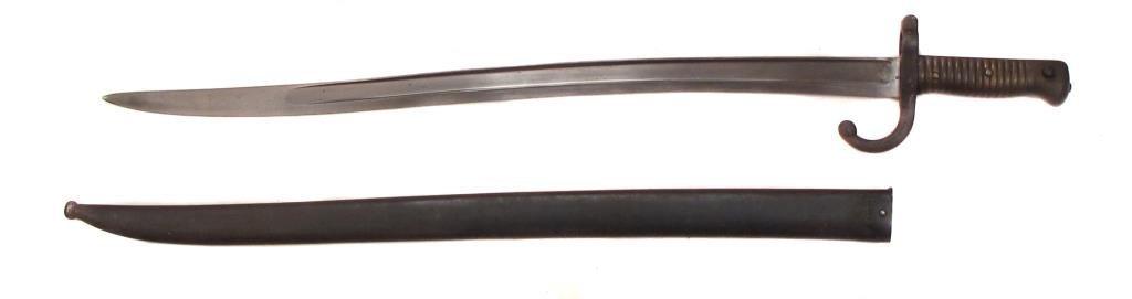 A FRENCH CHASSEPOT M1866 BAYONET