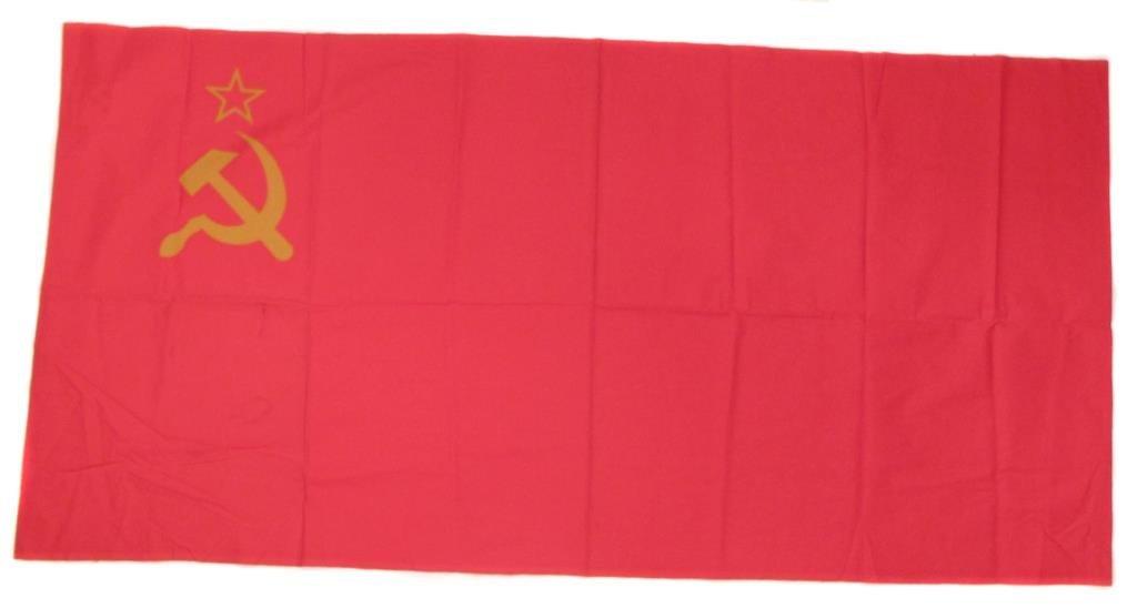 A RUSSIAN SOVIET-ERA FLAG