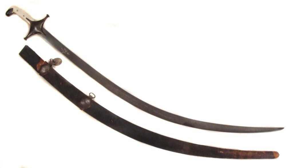 A PERSIAN SAFAVID DYNASTY SHAMSHIR SWORD