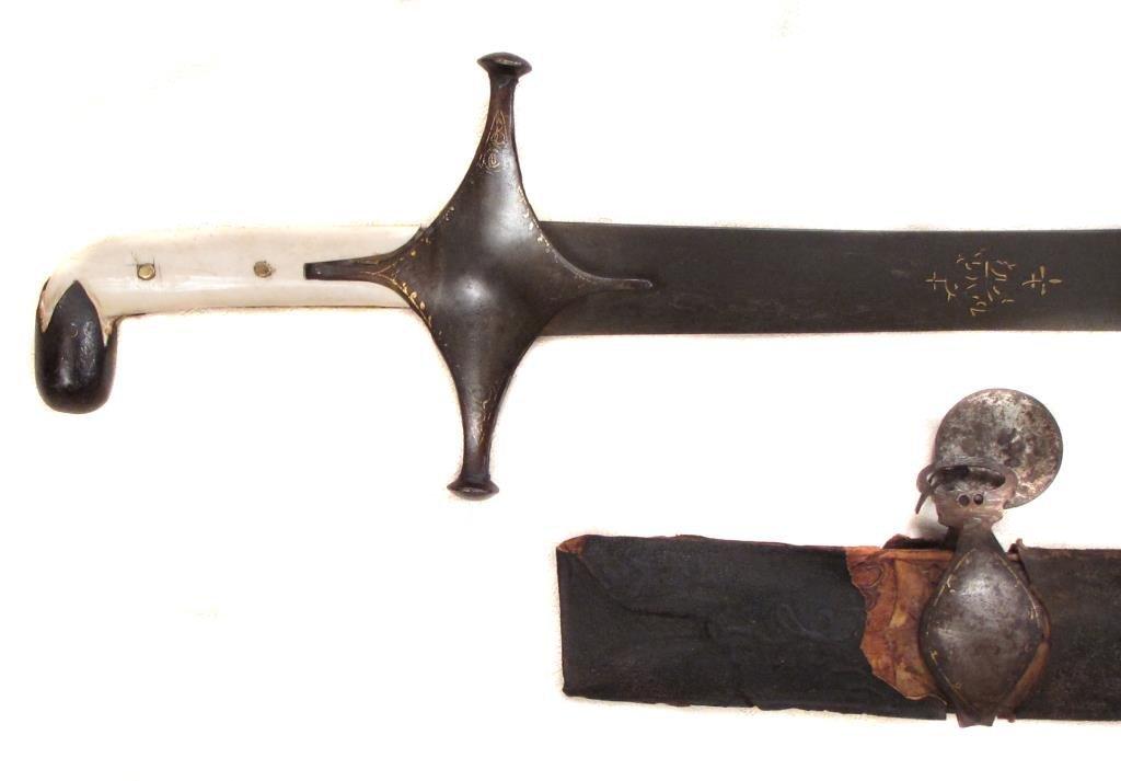 A PERSIAN SAFAVID DYNASTY SHAMSHIR SWORD - 2