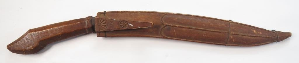 A PHILIPPINES BOLO KNIFE
