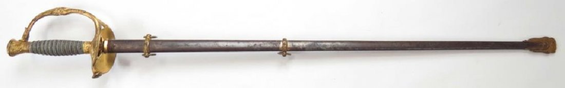 A US M 1860 STAFF & FIELD OFFICERS SWORD