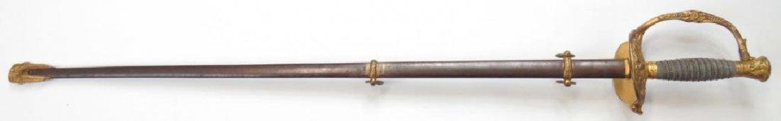A US M 1860 STAFF & FIELD OFFICERS SWORD - 4