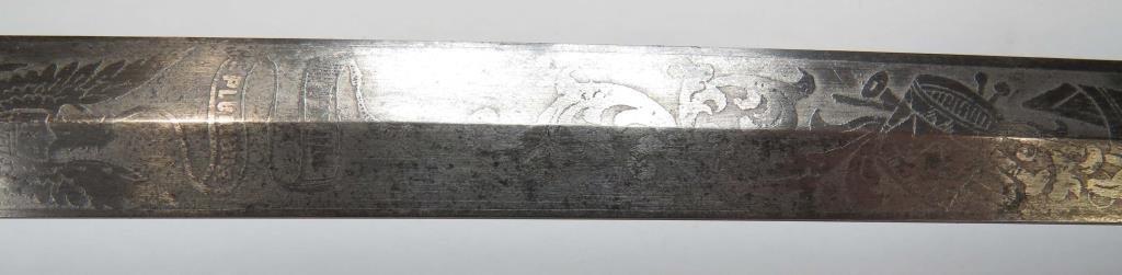 A US M 1860 STAFF & FIELD OFFICERS SWORD - 6