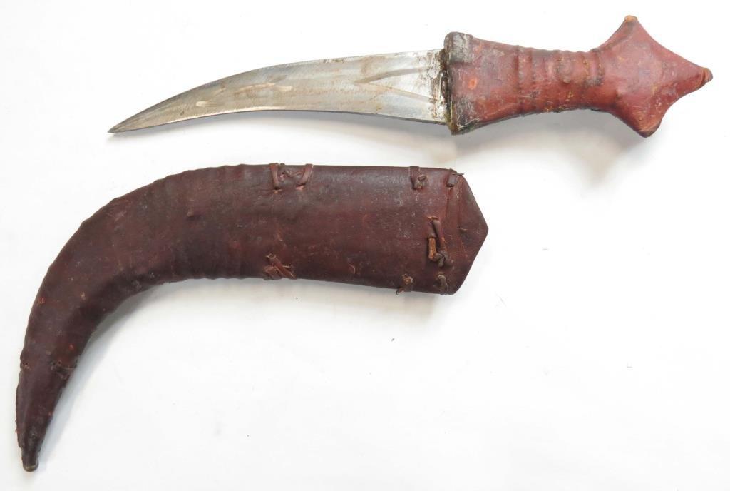 AN ARAB KHANJAR DAGGER - 4