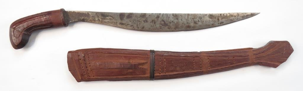 A PHILIPPINES FIGHTING KNIFE - 2