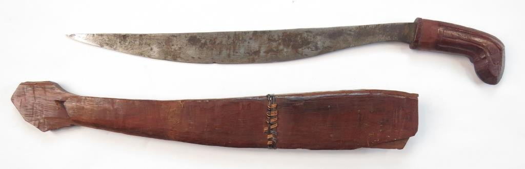 A PHILIPPINES FIGHTING KNIFE - 3