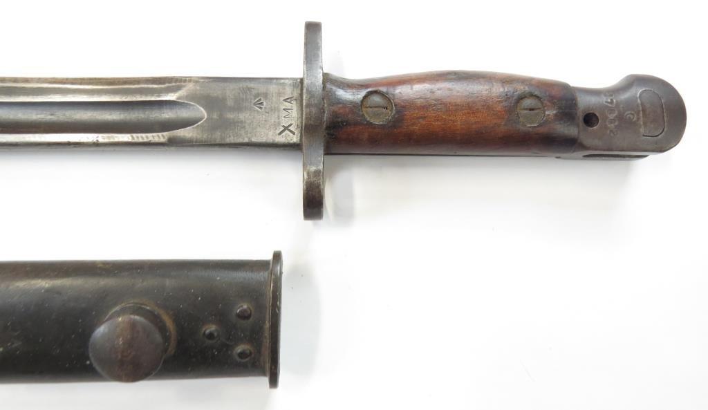 A BRITISH M1907 SANDERSON BAYONET - 10