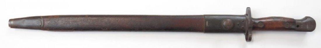 A BRITISH M1907 SANDERSON BAYONET - 4