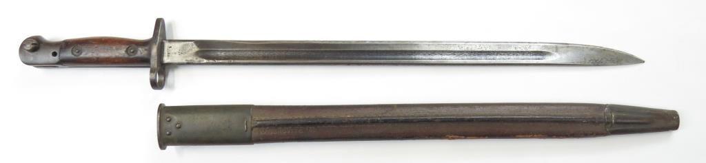A BRITISH M1907 SANDERSON BAYONET - 6