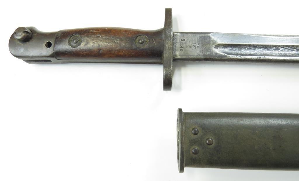 A BRITISH M1907 SANDERSON BAYONET - 7