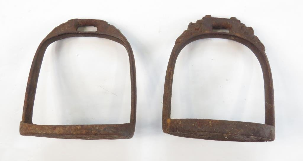 TWO CHINESE STIRRUPS - 3