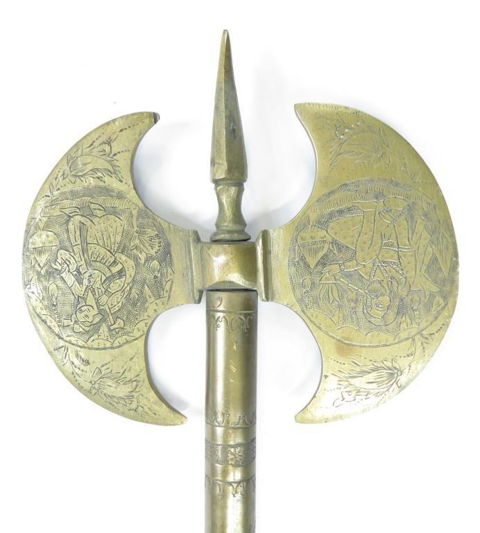A PERSIAN BATTLEAXE - 4